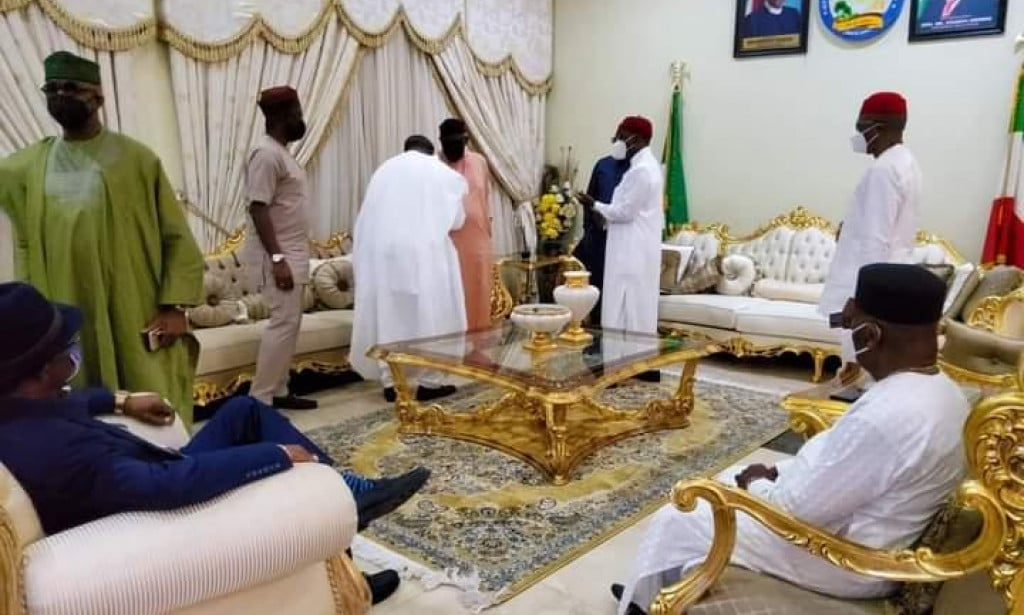 Southern governors meet in Asaba