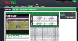 Bet9ja virtual sports betting